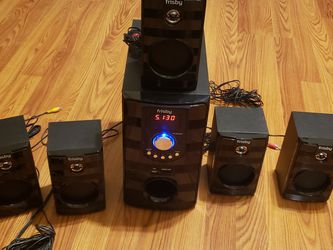 HOME THEATER SYSTEM LIKE NEW ( FRISBY) for Sale in Austin,  TX