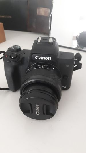 canon EOS M50 mirrorless camera for Sale in Rancho Cucamonga, CA