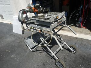 "7"" Wet tile saw for Sale in Delray Beach, FL"