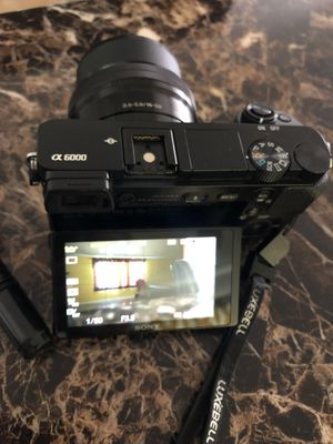 Sony Alpha 6000 for Sale in Montclair, CA