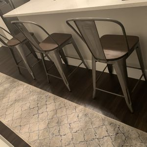 Kitchen Island Stools - Modern Industrial Style for Sale in Dallas, TX