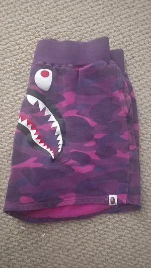 Purple Bape Sweatshorts for Sale in Naples, FL