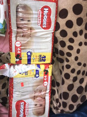 Huggies size 1 for Sale in The Bronx, NY
