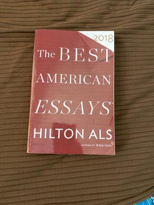 the best American essays Hilton ALS for Sale in Covington, WA