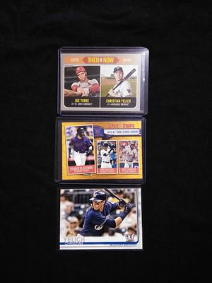 Christian Yelich Baseball Card Collection. for Sale in Hazard, CA