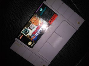 Super nintendo troy aikman football game for Sale in Dallas, TX