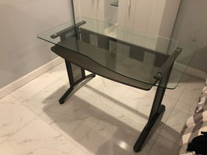 Computer table , desk , metal for Sale in Miami Springs, FL