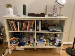 White Bookcase for Sale in Denver, CO