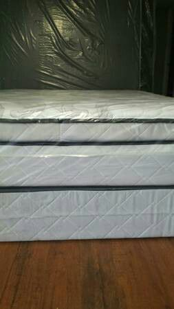New full pillow top mattress and box springs available. Delivery is available for Sale in Lodi, CA