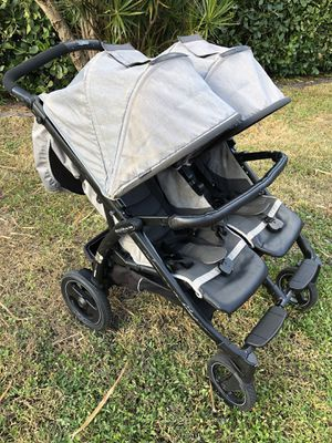 Peg Perego Book for 2 Double Twin Stroller for Sale in West Palm Beach, FL