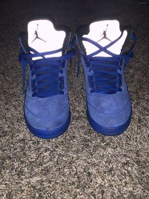 Blue retro Jordan 5s for Sale in Columbus, OH