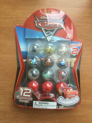 Cars 2 Squinkies, Series 2 Bubble Pack, 12-Pack for Sale in Portland, OR