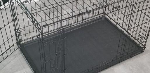 Pet Cage 22in W X 36in L X 24in H. $45 OBO for Sale in Pompano Beach,  FL