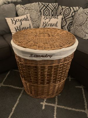 Laundry Basket Decoration for Sale in Las Vegas, NV