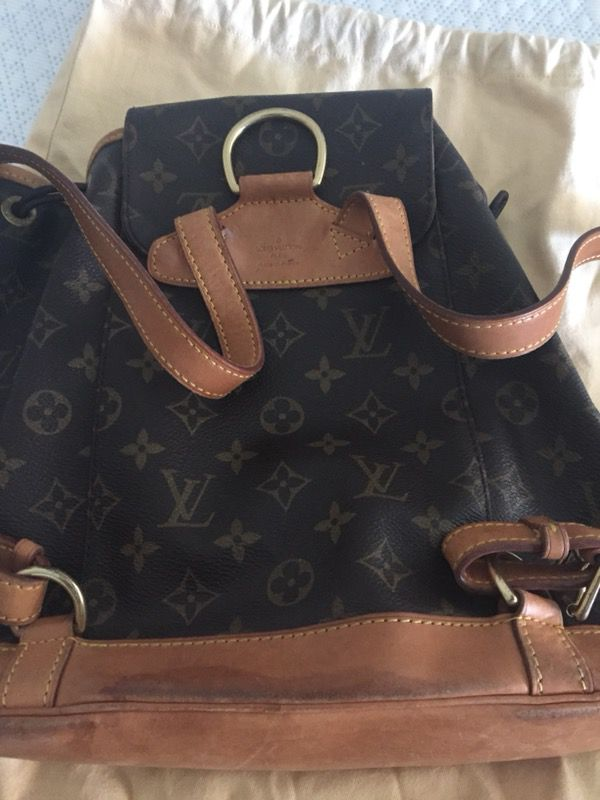 8af3c609e4cb 100% Auth Louis Vuitton back pack mm for Sale in Sacramento