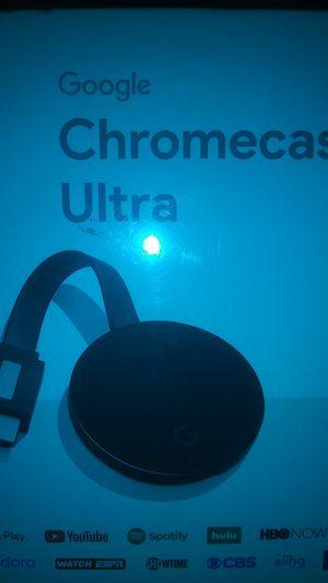 Chromecast ultra for Sale in Farmington, NM