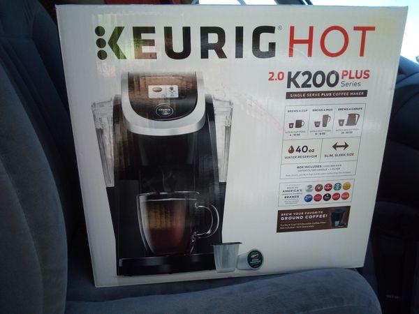 Keurig K200 Plus Brand New In Box