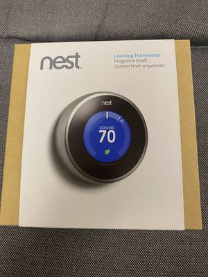 Nest Wi-Fi Thermostat 2nd generation for Sale in Campbell, CA