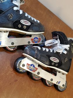 Mission 9 Street Hockey Skates ⛸ 🏒 Mens 7 Womens 9 for Sale in Addison,  IL