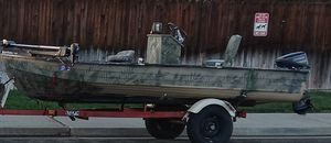 Aluminum fishing boat for Sale in Manteca, CA