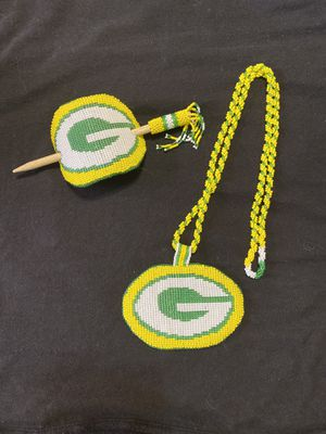 Green Bay beaded set for Sale in Sioux Falls, SD