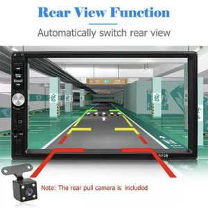2 DIN 7in Car Stereo Radio MP5 FM AUX Android/IOS Mirror Link TouchScreen Easy To Install for Sale in Philadelphia, PA