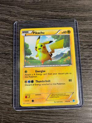 Pokémon Black and White Pikachu Secret Rare 115/114 for Sale in Dunedin, FL