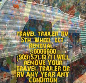 Trailer rv camper removal for Sale in Redlands, CA