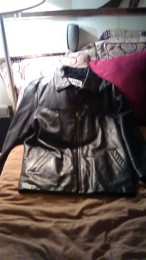 Wilson Pelle Studio Leather Men's Coat for Sale in Phoenix, AZ