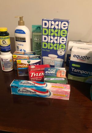 Lot of health supplies for Sale in Columbus, OH