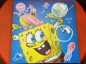 2 Spongebob wall pictures for Sale in Traverse City, MI