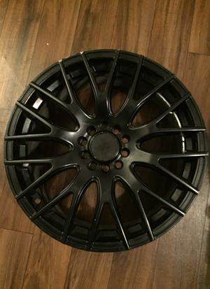Used rims after market black for Sale in San Antonio, TX