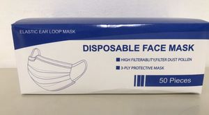 Disposal Face Mask (50pc) for Sale in Chicago, IL