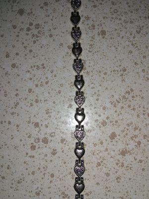 Silver heart bracelet for Sale in Phoenix, AZ