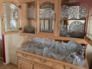 """Large collection of American Prescut """"Star of David"""" glass pieces for Sale in Louisville, KY"""