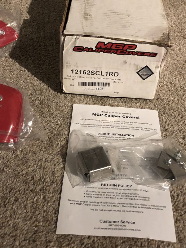 Dodge Challenger caliper covers