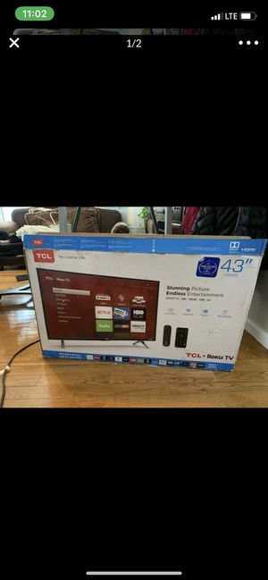 TCL 43' Roku TV for Sale in New York, NY