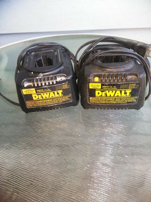 2 dewalt Chargers for Sale in Tualatin, OR