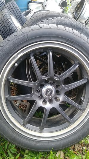 18 inch tires and rims Universal Rims for Sale in Tampa, FL