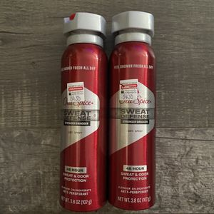 Old spice sweat defense stronger swagger dryspray $3.50 each for Sale in San Bernardino, CA