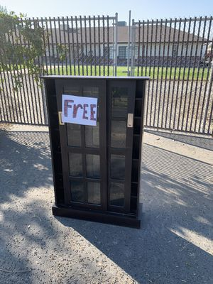 FREE CD/DVD cabinet for Sale in Tracy, CA