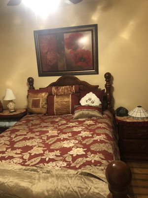 Full Size Bedroom Set w/ Mattress and Box Spring for Sale in Jacksonville, FL