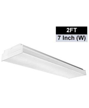 AntLux 2FT LED Wraparound Flush Mount LED Garage Lights, 20W 2400LM, 4000K Neutral White, 2 Foot LED Wrap Light, Integrated Linear Ceiling Lighting F for Sale in Sylmar, CA