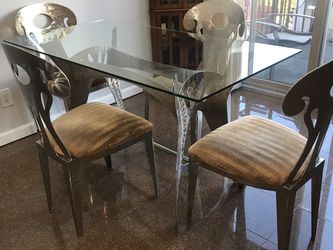 Brushes Stainless Steel Kitchen Table Set for Sale in Brooklyn,  NY