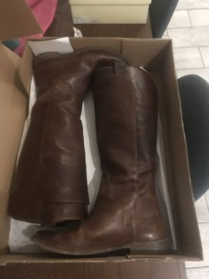 Women's Size 7.5 Frye Riding Boots for Sale in Tampa, FL