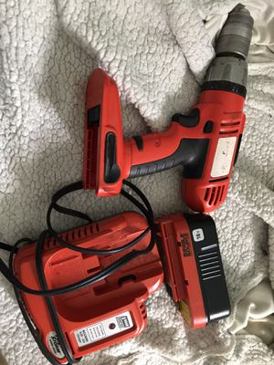 18v Drill & 1hr rapid Charger for Sale in Leicester, NC