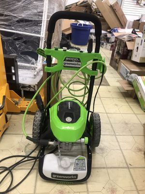 Greenworks 2000-PSI 1.2-GPM COLD WATER ELECTRIC PRESSURE WASHER for Sale in South El Monte, CA