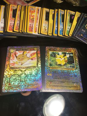 Pikachu and Raichu Reverse Holo Legendary Pokémon cards for Sale in Holtsville, NY