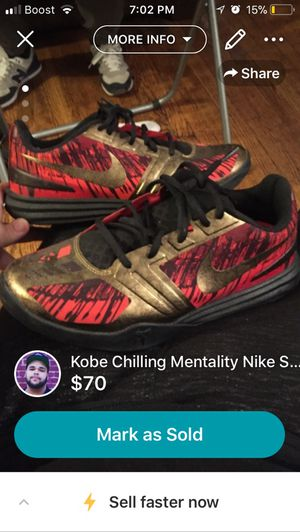 Kobe Chilling Mentality Nike shoes for Sale in Bronx, NY