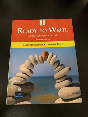 Ready to Write third edition book for Sale in Phoenix, AZ
